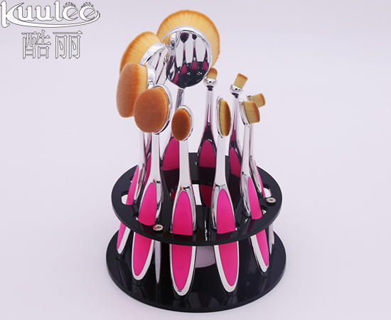 Makeup brush drying holder