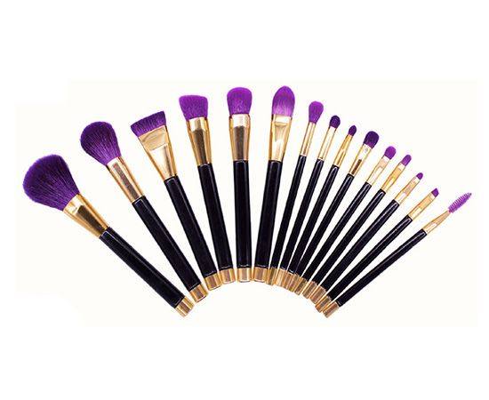 Purple 15Pcs Airbrush Makeup Best Contour Kit