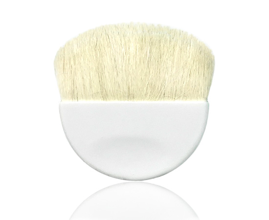 Half Moon Brush White Goat Hair